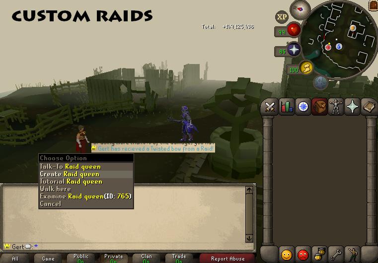 Custom raids