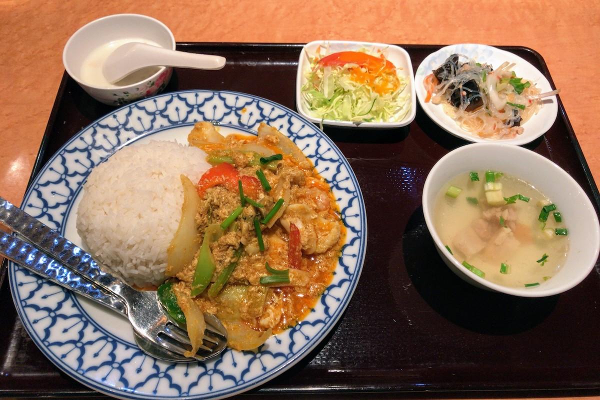 川崎 タイ料理 チャオタイ パッポンカリー 1