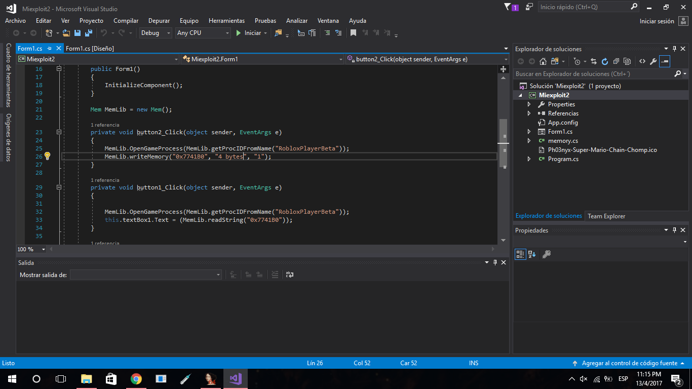 Roblox Exploit Visual Studio