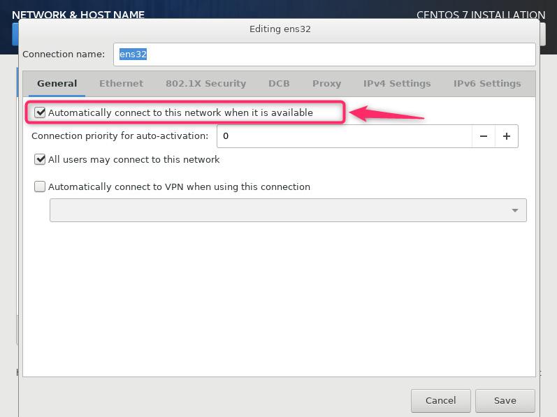 centos7 net install ss