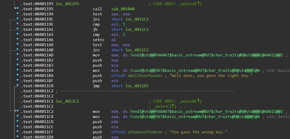 crack software using ida pro