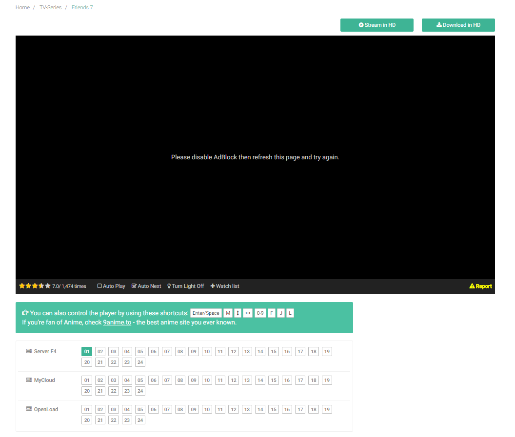 fmovies is website will not allow ublock  need help