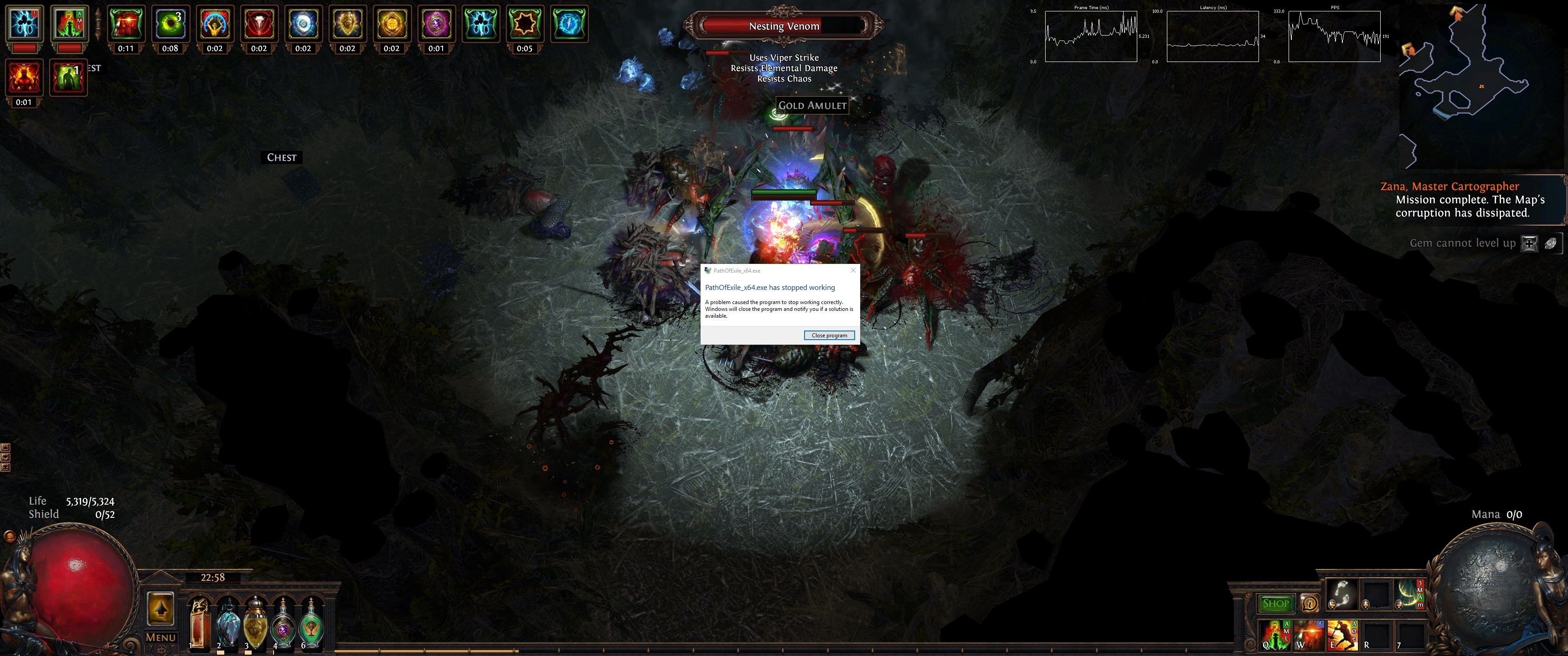 Forum - Technical Support - 64bit client crashing - Path of Exile