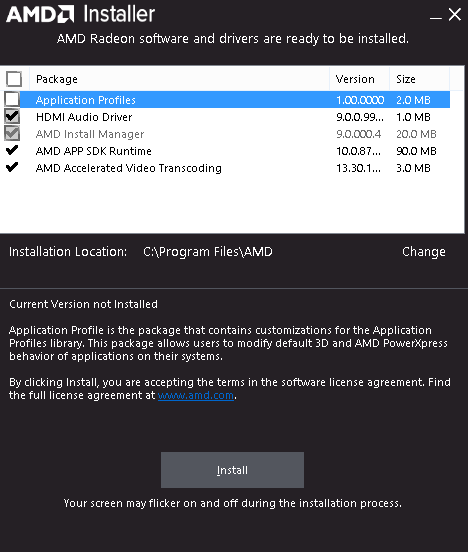 Accidentally uninstalled AMD Driver/Display Adapter and can