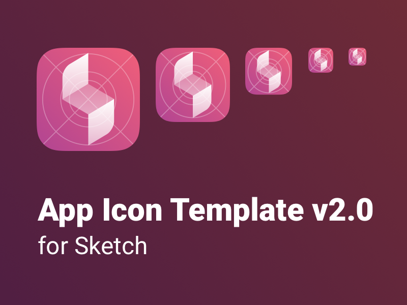 app icon template for sketch uknmr