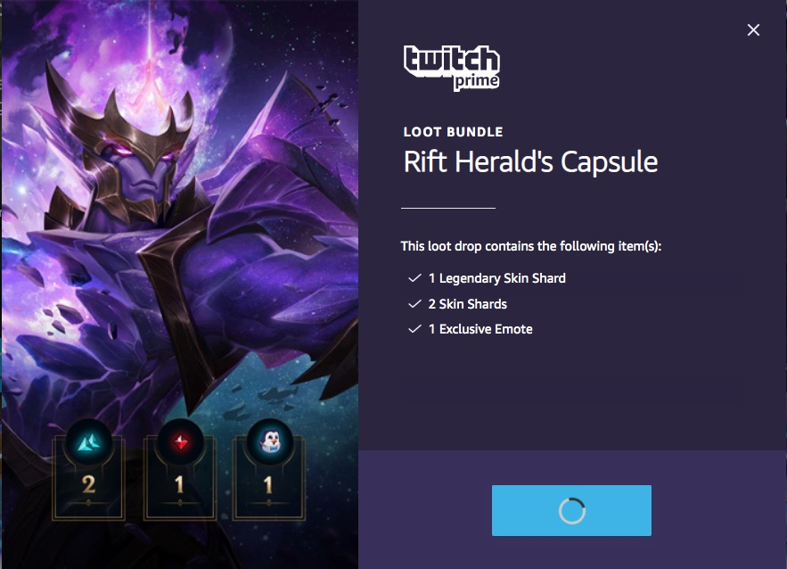 twitch league of legends loot