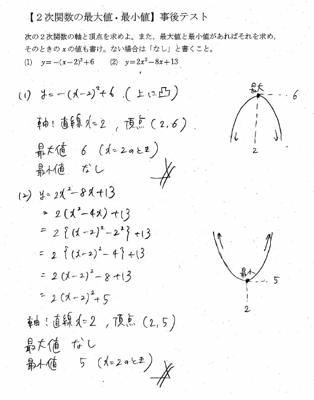 次 関数 最大 値 2 二次関数の最大値・最小値の求め方を徹底解説!|スタディクラブ情報局
